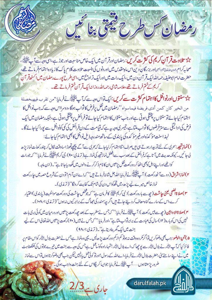 Ramzan Kis Tarah Qeemti Banain 2